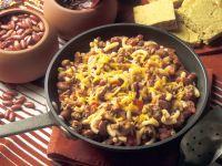 Chili con Carne mit Nudeln