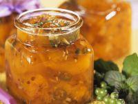 Chutney aus Pfirsich