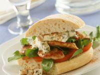 Ciabatta-Sandwich mit Schweinefilet