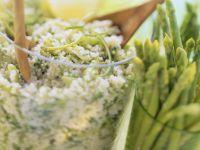 Couscous mit Thaispargel