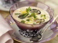 Cremige Austernsuppe