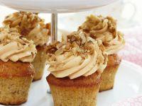 Cupcakes mit Nusstopping
