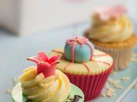 Cupcakes mit Vanille-Butter-Creme