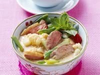 Curry mit Ente und Blumenkohl