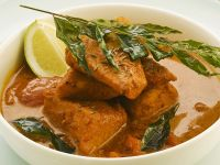 Curry mit Lachs