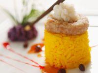 Curry-Reis mit Garnelen