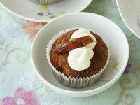 Dattel-Cupcakes mit Brandy