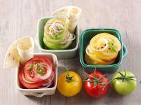 Dreierlei Tomatensalat