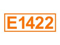 E 1422 ein Lebensmittelträgerstoff