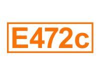 E 472 c ein Emulgator