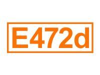 E 472 d ein Emulgator