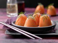 Eierbecher-Sushi