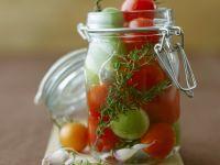 Eingelegte Tomaten