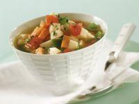 Eintopf aus Sellerie, Tomate, Paprika