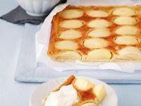 Elsässer Apfelkuchen vom Blech