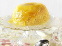 Englischer Pudding mit Zitronenguss