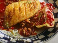 Entenbrust mit Granatapfelsauce