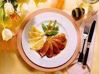 Entenbrust mit Orangensauce