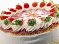 Erdbeer-Joghurt-Kuchen mit Blätterteig