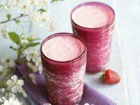 Erdbeer-Kokos-Milch