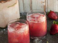 Erdbeer-Kokos-Shake