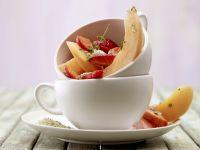Erdbeer-Melonen-Salat