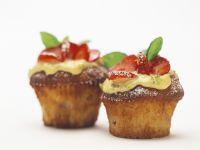 Erdbeer-Muffins mit Limette