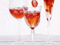 Erdbeer-Sekt