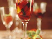 Erdbeer-Sekt-Kompott