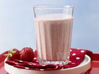 Erdbeer-Trinkmüsli
