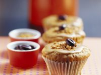 Espresso-Muffin mit Haselnüssen