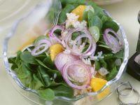 Feldsalat mit Orangen