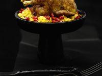Festliche Wachtel mit Couscous