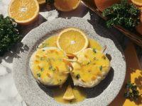 Fisch mit cremiger Orangensauce