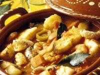Fischeintopf auf portugiesische Art