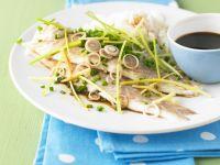 Fischfilet mit Ingwer und Zitronengras