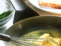 Fischfilet mit Zitronen-Buttersauce