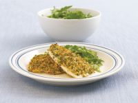Fischfilets mit Parmesankruste