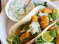 Fischnuggets in der Tacoschale