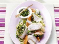 Fischragout mit Gemüse und Gremolata