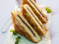 French Toast mit Schokoladenfüllung