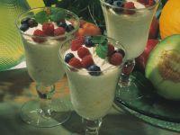 Frischkäse-Joghurt-Creme