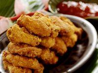 Fritterte Hähnchenteile