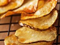 Frittierte Kartoffelscheiben