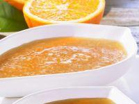 Fruchtige Glasur mit Orange