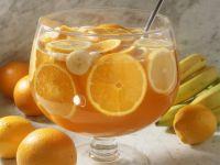 Fruchtige Orangenbowle