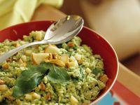 Fruchtiger Reissalat mit Pesto