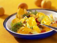 Fruchtiges Kartoffel-Paprikagemüse mit Curry