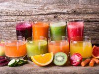 Fruchtsäfte und Gemüsesäfte