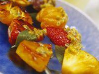 Fruchtspieße vom Grill